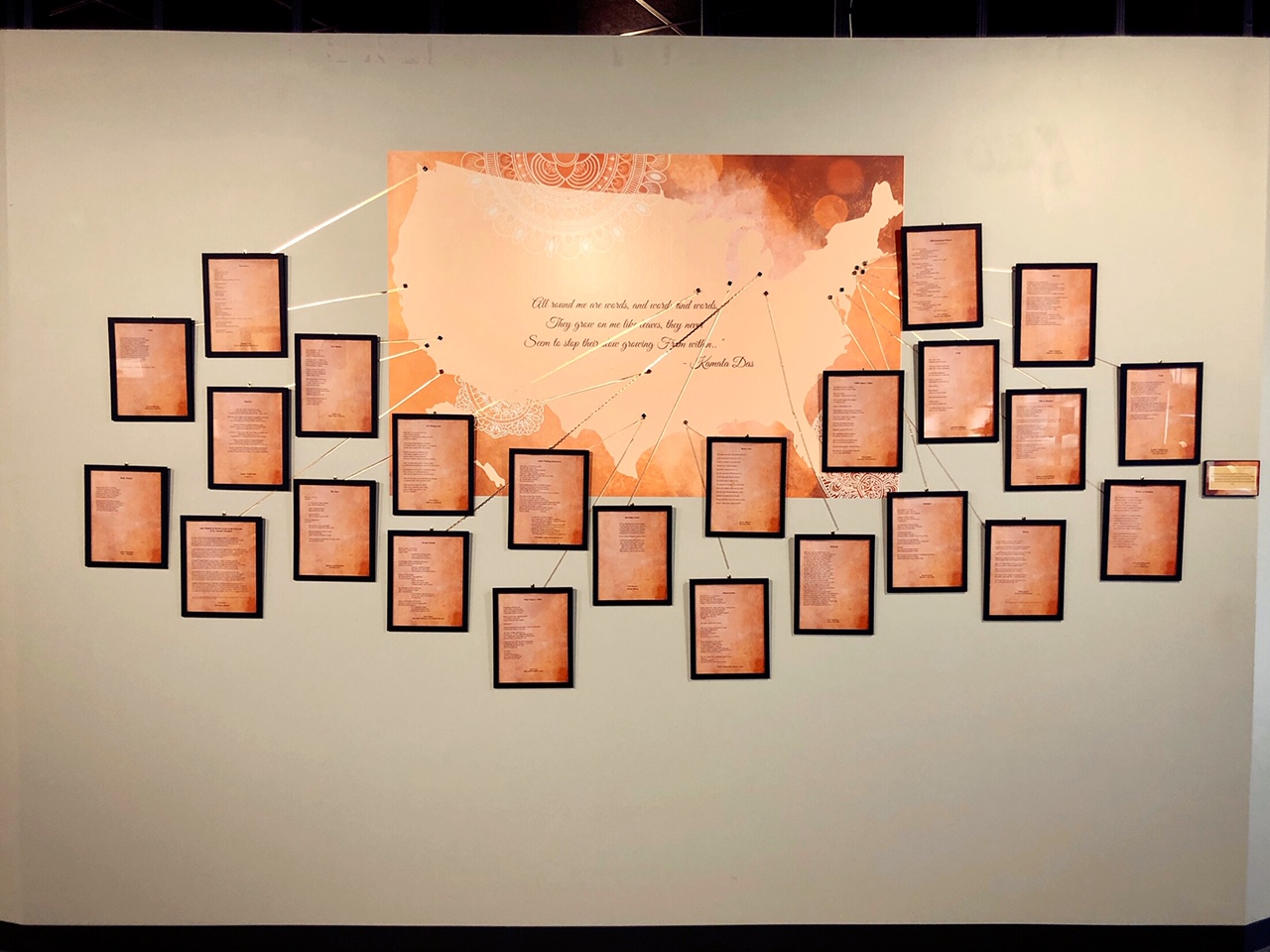 wall of poems