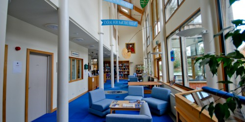Library Foyer